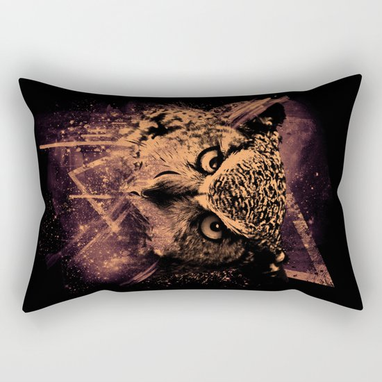 COSMIC OWL Rectangular Pillow