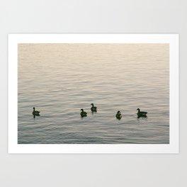 Float on Bye Art Print