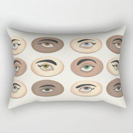 Lover's Eyes Rectangular Pillow