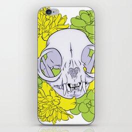Persian Kitty Skull iPhone Skin