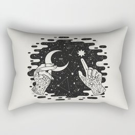 Look to the Skies Rectangular Pillow