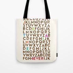 Je T'aime 4 Ever Tote Bag