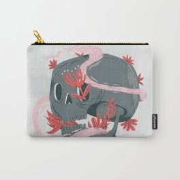 death and silence Carry-All Pouch