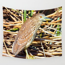 Russet Colored Eyes Wall Tapestry