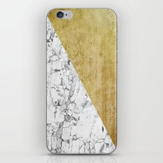 Marble vs GOld iPhone Skin