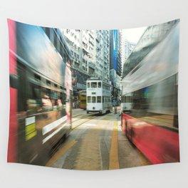 Hong Kong Public Transport Wall Tapestry