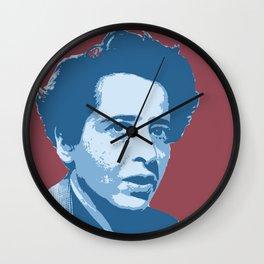 Hannah Arendt Wall Clock