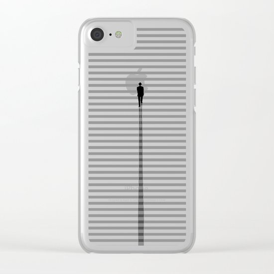 Up The Stair Clear iPhone Case