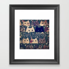 cat-224 Framed Art Print