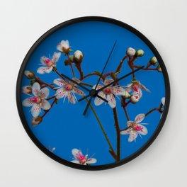 London Pride Flowers Wall Clock