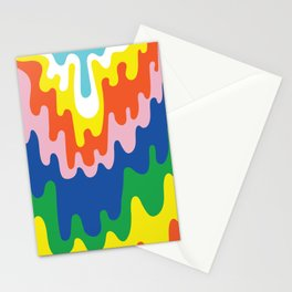 Psychedelic Meltdown Stationery Cards