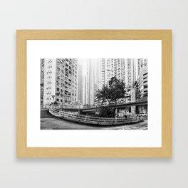 Central, Hong Kong Framed Art Print