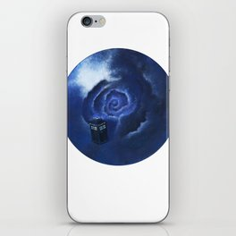 Through Time and Space iPhone Skin