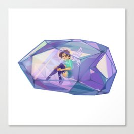 Crystal Angel Canvas Print