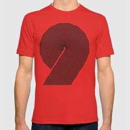 wobbly 9 T-shirt
