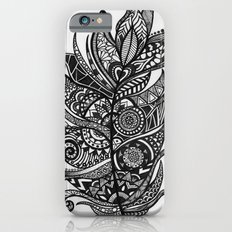 Zen Tangle Feather iPhone 6s Slim Case