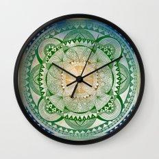 Metta Mandala, Loving Kindness Meditation Wall Clock