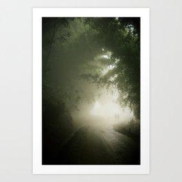 The mystic path Art Print