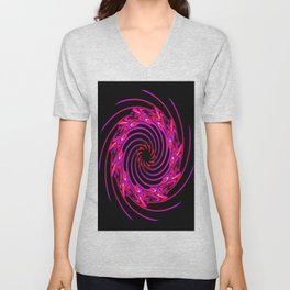 Abstract Perfection 28 Unisex V-Neck