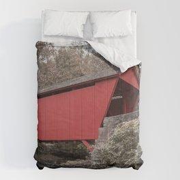 Walls of Jericho Bridge Muted Comforters