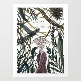Not 16 Art Print