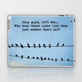 When Pigeons Plan... Laptop & iPad Skin