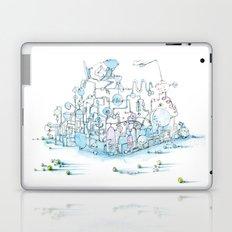 Scientist Frog Laptop & iPad Skin