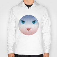 meow Hoodies featuring MEOW by Rosa Picnic