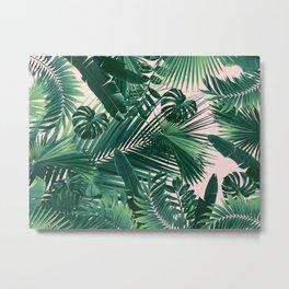 Jungle Leaves Siesta #1 #tropical #decor #art #society6 Metal Print