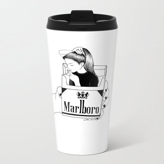 Smoke Metal Travel Mug
