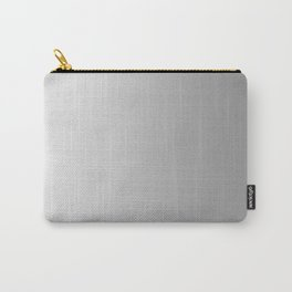 White to Gray Vertical Linear Gradient Carry-All Pouch