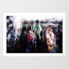 desembarquembarque II Art Print