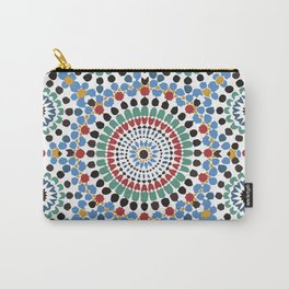 Moroccan Tiles Carry-All Pouch