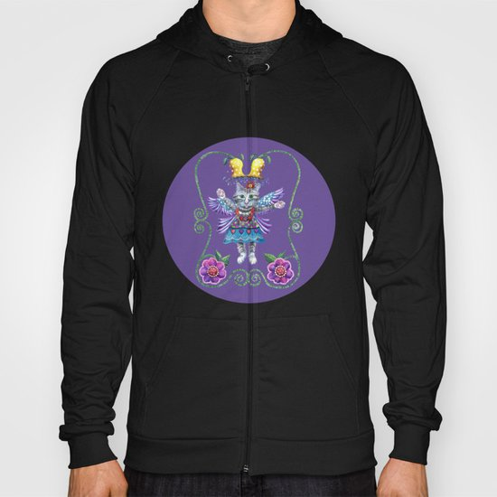 Angel Kitty (Purple) Hoody