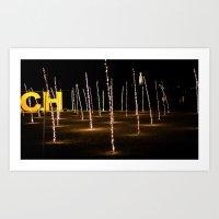christ Art Prints featuring CHRIST XXI by Sébastien BOUVIER