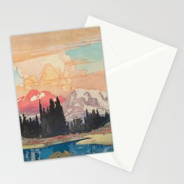 Storms over Keiisino Stationery Cards