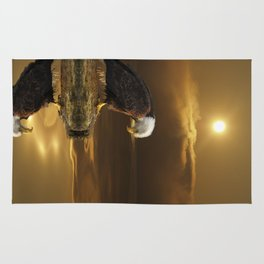 Gratitude - Bald Eagle At Prayer Rug
