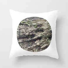 Planetary Bodies - Roots Throw Pillow