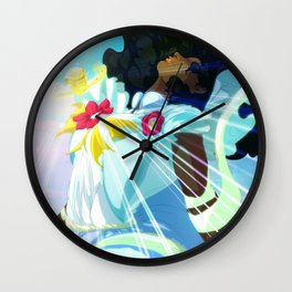 Magical Girl Awaken Wall Clock