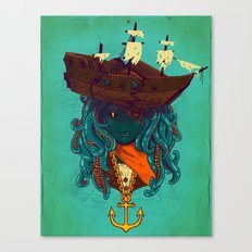 The Bride of Neptune Canvas Print