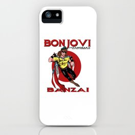 Bon Jovi Japan iPhone Case