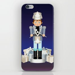Little Drummer Boy on Christmas Eve iPhone Skin