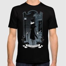 Jack the Ripper Black Mens Fitted Tee 2X-LARGE