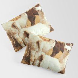 kitty lama Pillow Sham