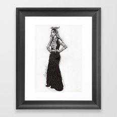 Cameo 5 Framed Art Print
