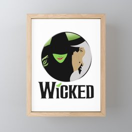 broadway musical wicked Framed Mini Art Print