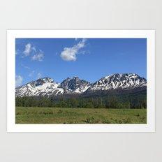 Pioneer Peak Art Print