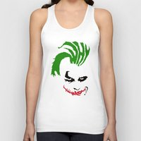 the joker Tank Tops featuring Joker by The Artist