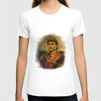 patrick T-shirts featuring Patrick Swayze - replaceface by replaceface
