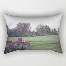 zucca in wonderland Rectangular Pillow